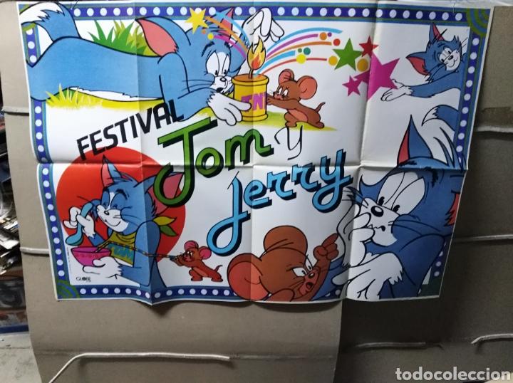 FESTIVAL TOM Y JERRY POSTER ORIGINAL 70X100 Q (Cine - Posters y Carteles - Infantil)