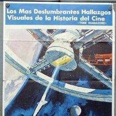 Cine: EQ70D 2001 UNA ODISEA DEL ESPACIO STANLEY KUBRICK POSTER ORIGINAL 70X100 ESTRENO. Lote 190564985