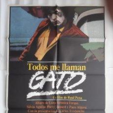 Cine: CARTEL CINE TODOS ME LLAMAN GATO 1981 C 531. Lote 190608800