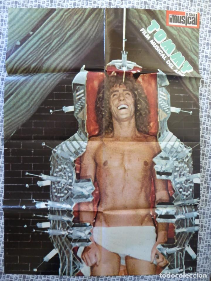 ROGER DALTREY (THE WHO) EN LA PELÍCULA TOMMY - POSTER DE EL GRAN MUSICAL DE 84 X 61 CM. (Cine - Posters y Carteles - Musicales)