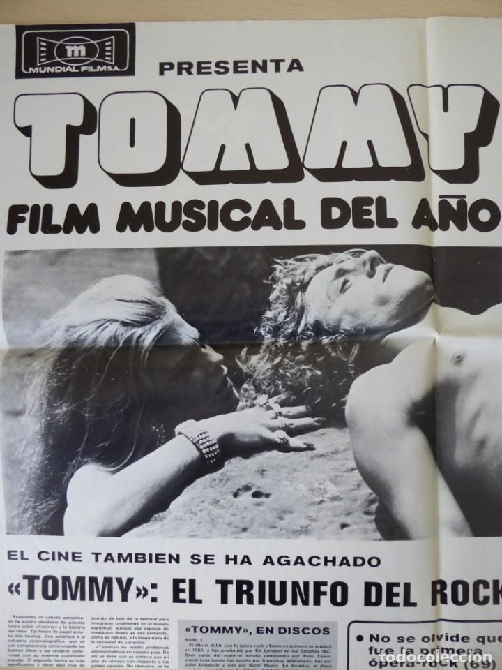 Cine: Roger Daltrey (The Who) en la película Tommy - poster de El Gran Musical de 84 x 61 cm. - Foto 3 - 190620953