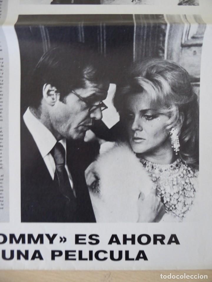 Cine: Roger Daltrey (The Who) en la película Tommy - poster de El Gran Musical de 84 x 61 cm. - Foto 4 - 190620953