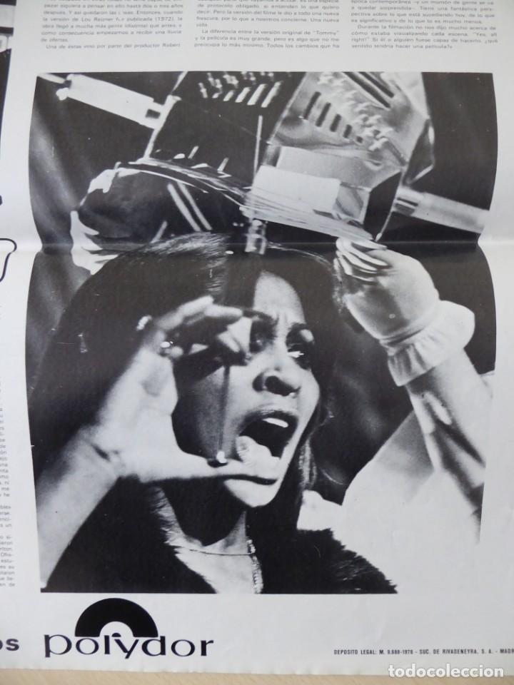 Cine: Roger Daltrey (The Who) en la película Tommy - poster de El Gran Musical de 84 x 61 cm. - Foto 5 - 190620953