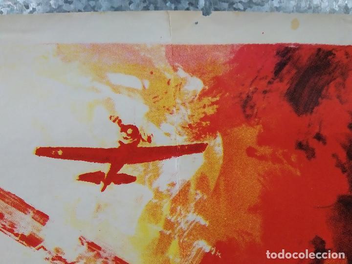 Cine: La brigada de los condenados Curd Jürgens, Jack Palance. AÑO 1970. POSTER ORIGINAL - Foto 3 - 190766848