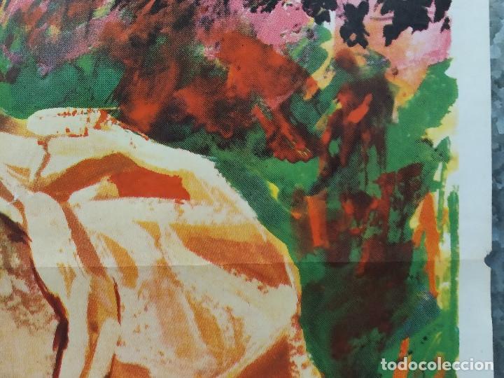 Cine: La brigada de los condenados Curd Jürgens, Jack Palance. AÑO 1970. POSTER ORIGINAL - Foto 5 - 190766848
