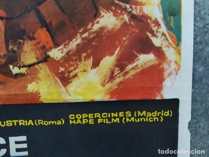 Cine: La brigada de los condenados Curd Jürgens, Jack Palance. AÑO 1970. POSTER ORIGINAL - Foto 6 - 190766848