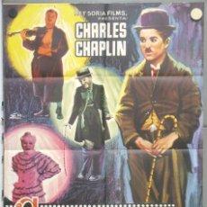 Cine: RC05D CANDILEJAS CHARLES CHAPLIN LIMELIGHT ESCOBAR RARO POSTER ORIGINAL 70X100 ESPAÑOL B. Lote 190771052
