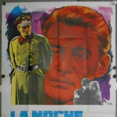 Cine: WH78D CCJ LA NOCHE DE LOS GENERALES PETER O'TOOLE OMAR SHARIF POSTER ORIG 3 HOJAS 100X205 ESTRENO. Lote 190779225