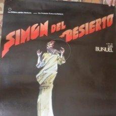 Cine: CARTEL POSTER CINE SIMON DEL DESIERTO LUIS BUÑUEL. Lote 190802615