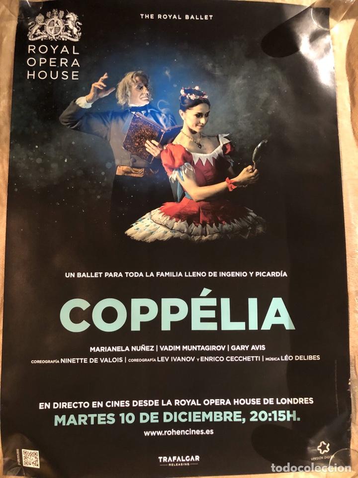 COPPELIA ROYAL OPERA HOUSE RARO PÓSTER CINE 70X100CM (Cine - Posters y Carteles - Musicales)