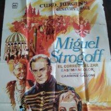 Cine: POSTER MIGUEL STROGOFF EL CORREO DEL ZAR. Lote 190831726