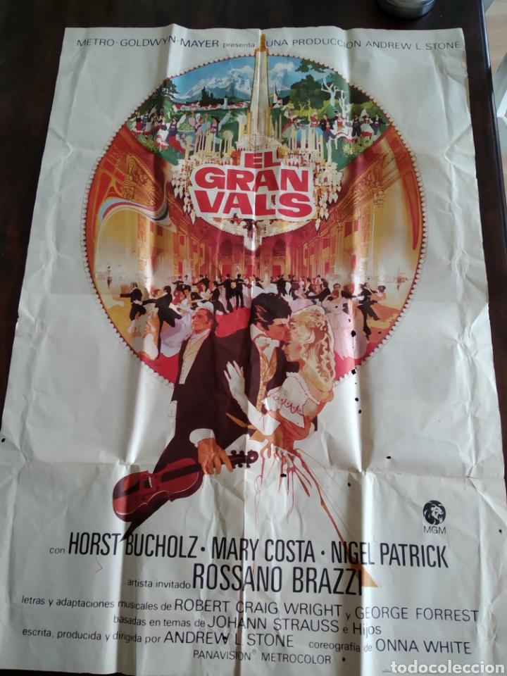 POSTER EL GRAN VALS (Cine- Posters y Carteles - Drama)