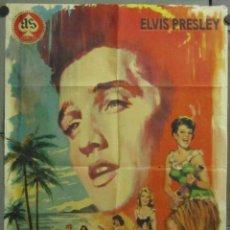 Cine: AAB88 AMOR EN HAWAI ELVIS PRESLEY POSTER ORIGINAL 70X100 ESTRENO. Lote 190858853