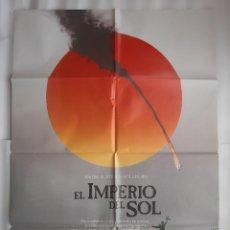 Cinema: CARTEL CINE EL IMPERIO DEL SOL STEVEN SPIELBERG CHRISTIAN BALE 1987 C539. Lote 190919366