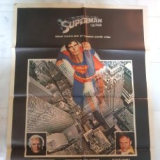 Cine: CARTEL / PÓSTER CINE SUPERMAN. ORIGINAL.. Lote 190978378
