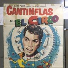 Cine: AAB77 EL CIRCO CANTINFLAS POSTER ORIGINAL 70X100 ESPAÑOL. Lote 190980241