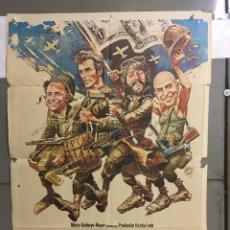 Cinéma: AAB95 LOS VIOLENTOS DE KELLY CLINT EASTWOOD POSTER ORIGINAL 70X100 ESTRENO. Lote 190986042