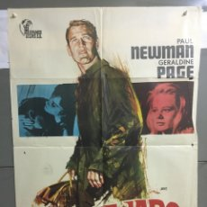 Cine: AAC05 DULCE PAJARO DE JUVENTUD PAUL NEWMAN POSTER ORIGINAL 70X100 ESPAÑOL. Lote 190991513