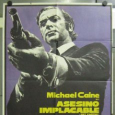 Cine: AAB72 ASESINO IMPLACABLE GET CARTER MICHAEL CAINE MAC POSTER ORIGINAL 70X100 ESTRENO. Lote 190997778