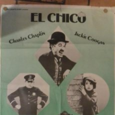 Cine: CARTEL POSTER CINE EL CIRCO CHARLES CHAPLIN. Lote 191013262