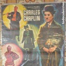 Cine: CARTEL POSTER CINE CANDILEJAS DE CARLES CHAPLIN. Lote 191013352
