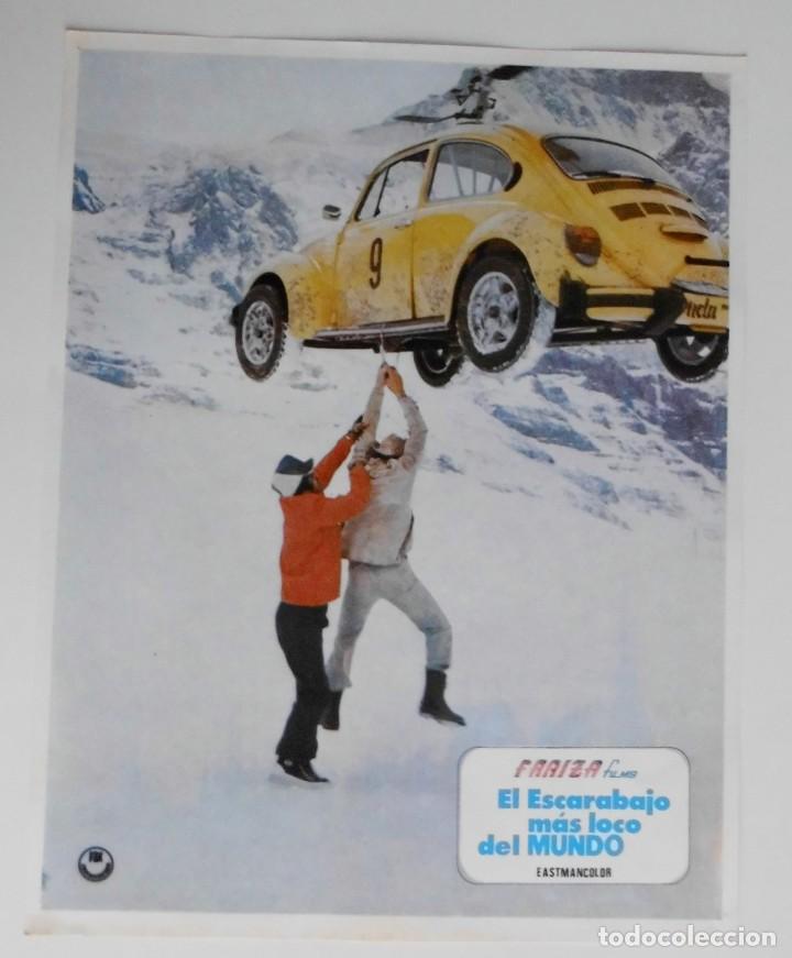 EL ESCARABAJO MAS LOCO DEL MUNDO, PROSPECTO DE PELÍCULA (Cine - Posters y Carteles - Comedia)