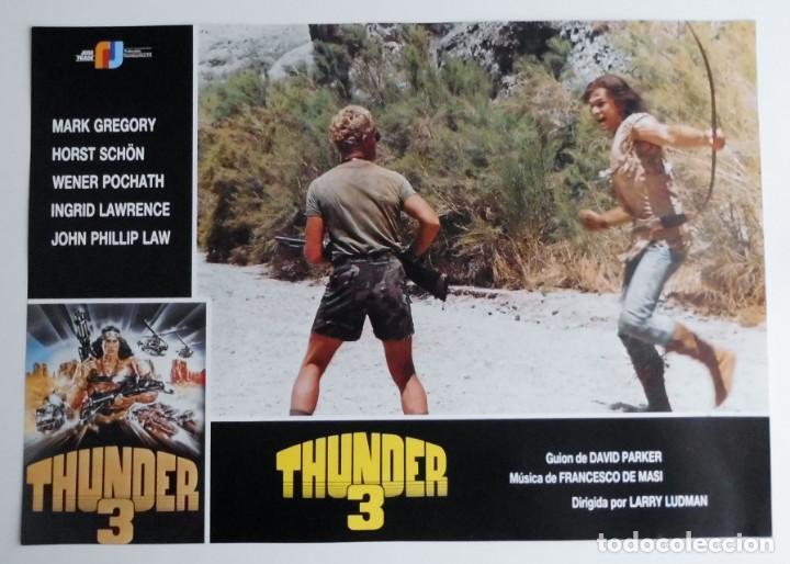 THUNDER 3, MARK GREGORY, HORST SCHON, PROSPECTO DE PELÍCULA (Cine - Posters y Carteles - Comedia)