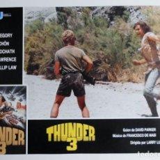 Cine: THUNDER 3, MARK GREGORY, HORST SCHON, PROSPECTO DE PELÍCULA. Lote 191115040
