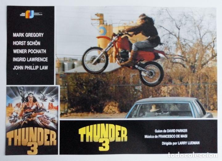 Cine: THUNDER 3, MARK GREGORY, HORST SCHON, PROSPECTO DE PELÍCULA - Foto 2 - 191115040