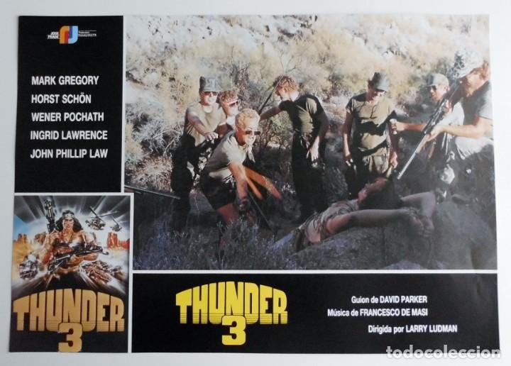 Cine: THUNDER 3, MARK GREGORY, HORST SCHON, PROSPECTO DE PELÍCULA - Foto 3 - 191115040