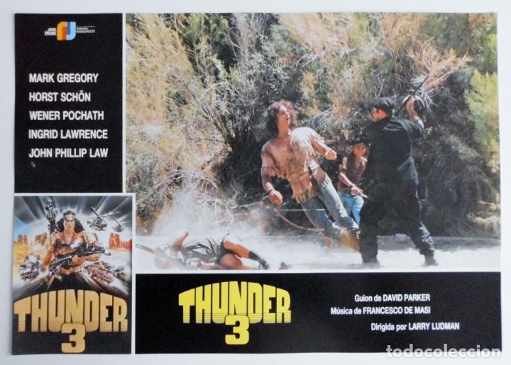 Cine: THUNDER 3, MARK GREGORY, HORST SCHON, PROSPECTO DE PELÍCULA - Foto 4 - 191115040