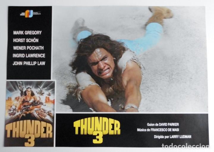 Cine: THUNDER 3, MARK GREGORY, HORST SCHON, PROSPECTO DE PELÍCULA - Foto 5 - 191115040