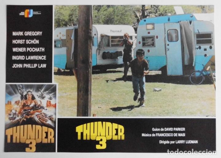 Cine: THUNDER 3, MARK GREGORY, HORST SCHON, PROSPECTO DE PELÍCULA - Foto 6 - 191115040