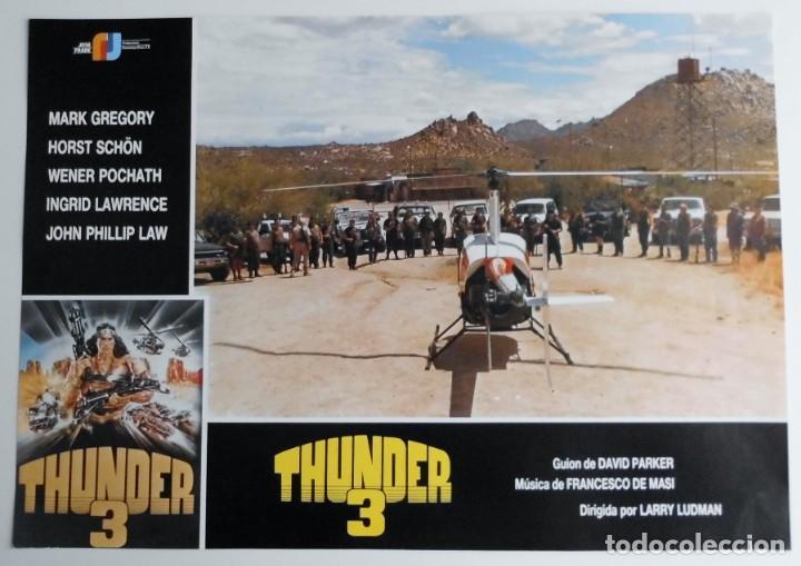 Cine: THUNDER 3, MARK GREGORY, HORST SCHON, PROSPECTO DE PELÍCULA - Foto 7 - 191115040