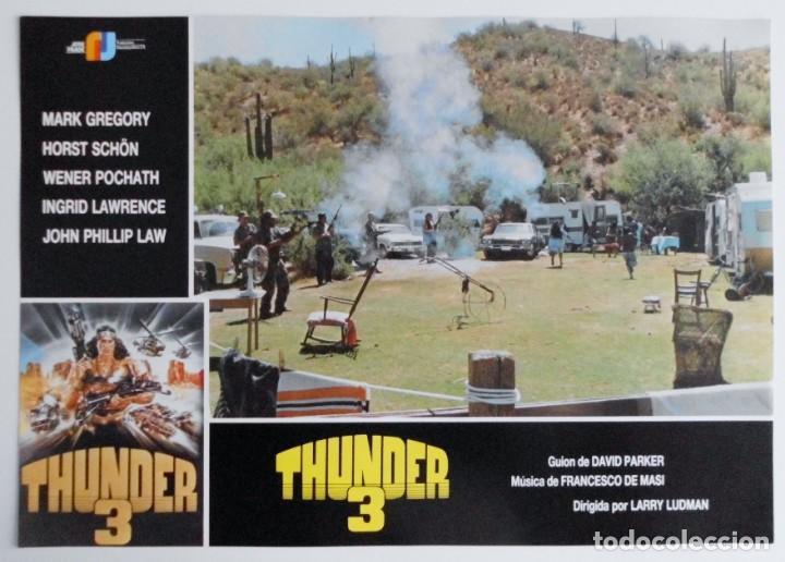 Cine: THUNDER 3, MARK GREGORY, HORST SCHON, PROSPECTO DE PELÍCULA - Foto 8 - 191115040