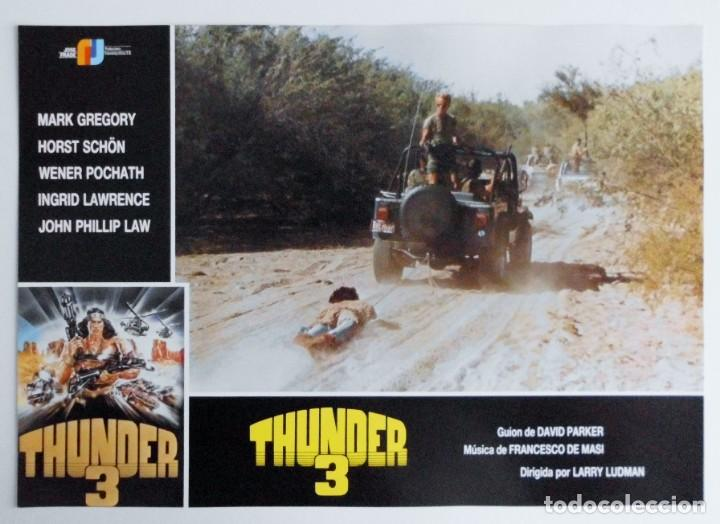 Cine: THUNDER 3, MARK GREGORY, HORST SCHON, PROSPECTO DE PELÍCULA - Foto 11 - 191115040