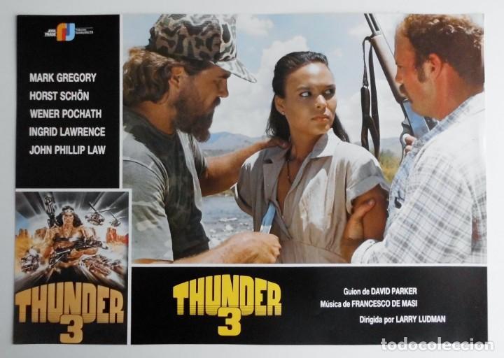 Cine: THUNDER 3, MARK GREGORY, HORST SCHON, PROSPECTO DE PELÍCULA - Foto 12 - 191115040