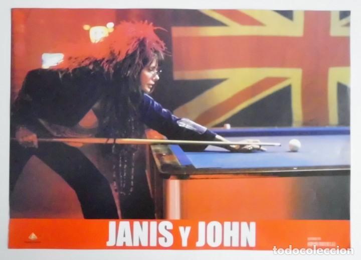 JANIS Y JOHN, PROSPECTO DE PELÍCULA (Cine - Posters y Carteles - Comedia)
