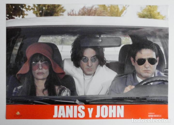 Cine: JANIS Y JOHN, PROSPECTO DE PELÍCULA - Foto 3 - 191115437
