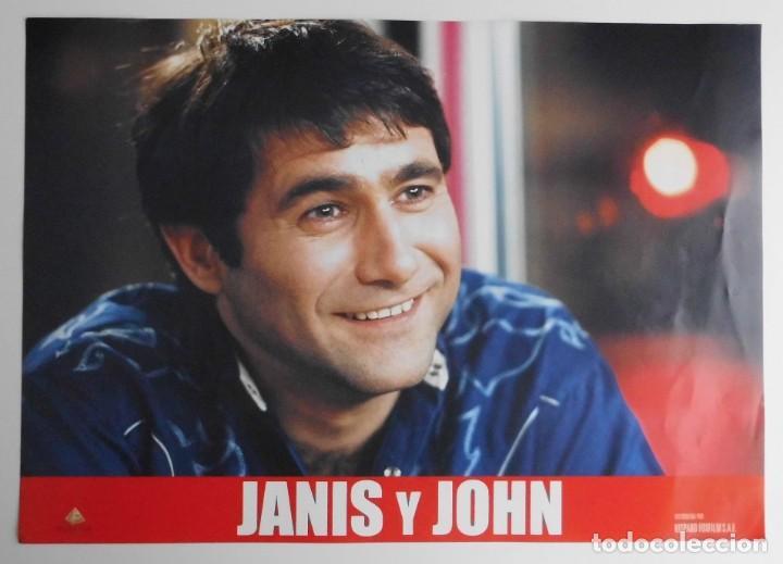 Cine: JANIS Y JOHN, PROSPECTO DE PELÍCULA - Foto 4 - 191115437