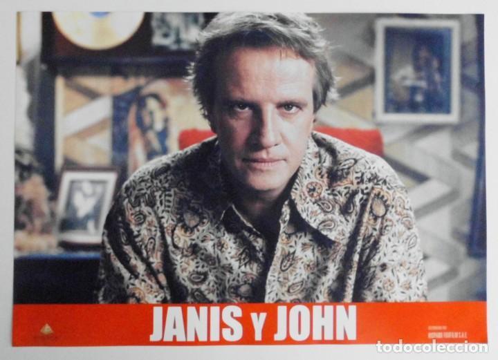 Cine: JANIS Y JOHN, PROSPECTO DE PELÍCULA - Foto 5 - 191115437