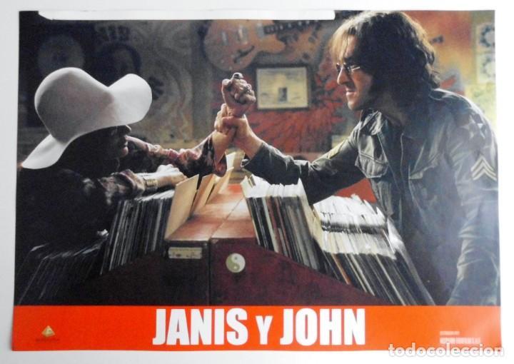 Cine: JANIS Y JOHN, PROSPECTO DE PELÍCULA - Foto 8 - 191115437
