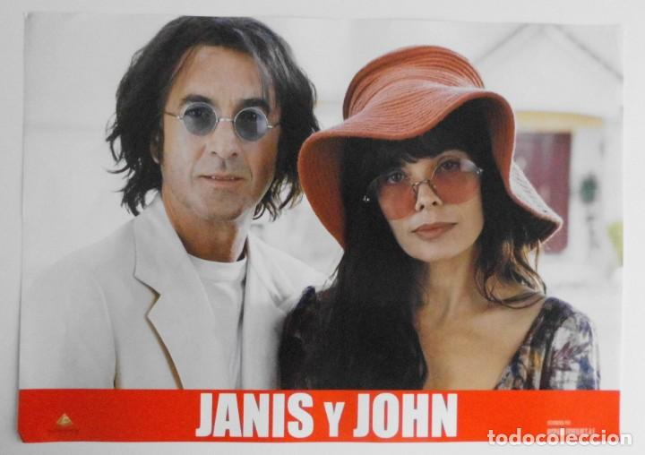 Cine: JANIS Y JOHN, PROSPECTO DE PELÍCULA - Foto 9 - 191115437