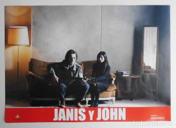 Cine: JANIS Y JOHN, PROSPECTO DE PELÍCULA - Foto 10 - 191115437