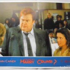 Cine: QUIEN ES HARRY CRUMB, JOHN CANDY, PROSPECTO DE PELÍCULA. Lote 191117266