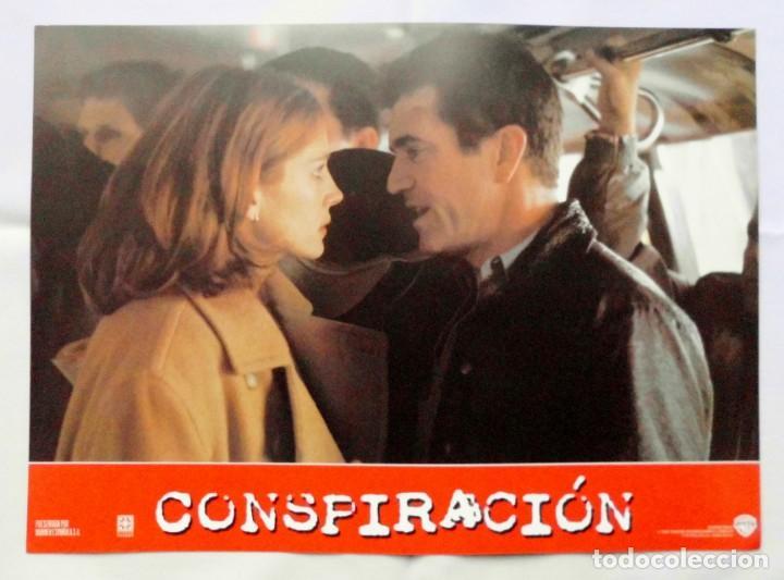 Cine: CONSPIRACIÓN, MEL GIBSON, JULIA ROBERTS , PROSPECTO DE PELÍCULA - Foto 4 - 191120061