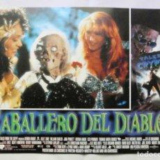 Cine: CABALLERO DEL DIABLO , PROSPECTO DE PELÍCULA. Lote 191120318