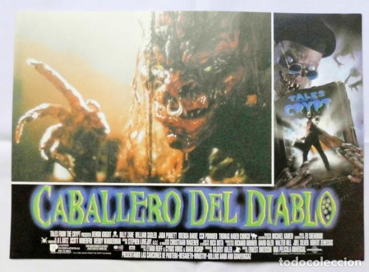 Cine: CABALLERO DEL DIABLO , PROSPECTO DE PELÍCULA - Foto 2 - 191120318