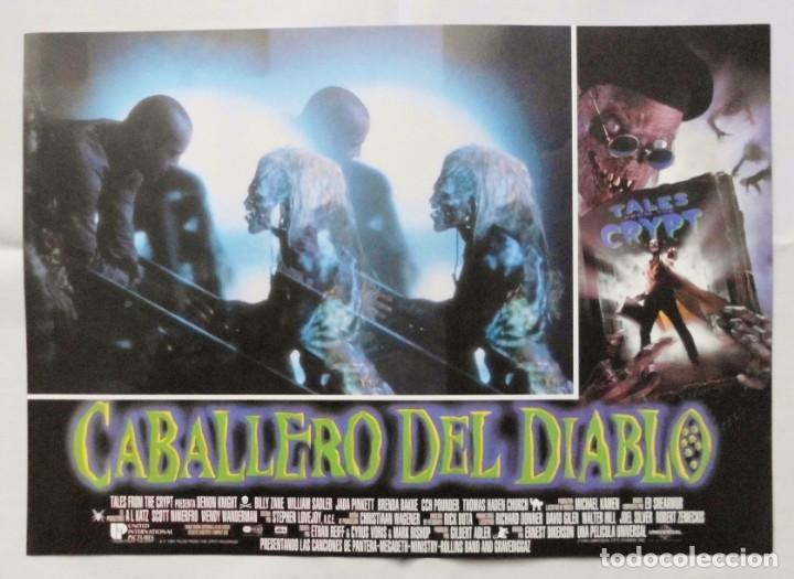 Cine: CABALLERO DEL DIABLO , PROSPECTO DE PELÍCULA - Foto 4 - 191120318
