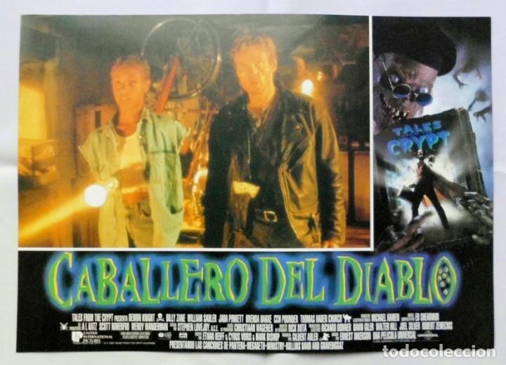 Cine: CABALLERO DEL DIABLO , PROSPECTO DE PELÍCULA - Foto 10 - 191120318